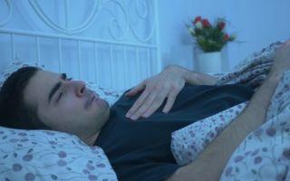 Почему изжога мешает спать по ночам?