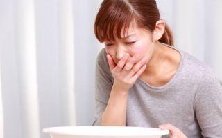 Причины появления отрыжки с тошнотой