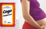 Безопасно ли пить соду от изжоги во время беременности
