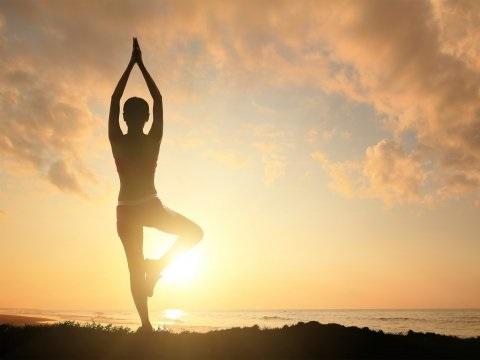 Йога на рассвете