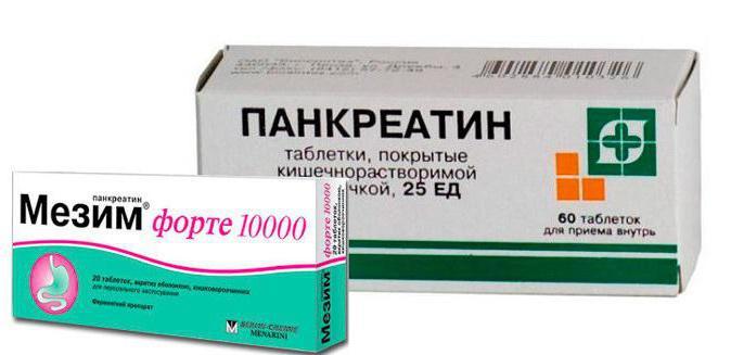 Мезим Панкреатин