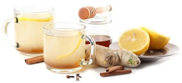 имбирно медовый чай